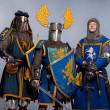 Medieval knights — Stock Photo #10204868