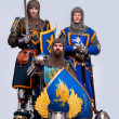 Medieval knights — Stock Photo #10204874