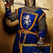 Medieval knight — Stock Photo