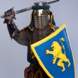 Medieval knight — Stock Photo #10204933