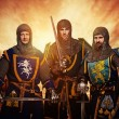 Royalty-Free Stock Photo: Medieval knights