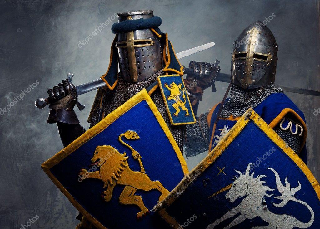 два рыцаря картинки
