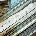 Escalator in modern building. — Stock Photo