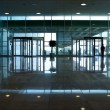 Modern office building hallway. — Stock Photo
