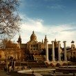 Museu Nacional d'Art de Catalunya Barcelona, Spain. — Stock Photo