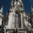 Gothic cathedral in Barcelona — Stock Photo #10213497