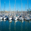 Yachts &amp;amp; boats in a harbour. - Foto de Stock  