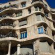 Casa mila in Barcelona - Stock Photo