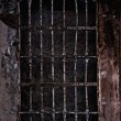 Old prison cell - Foto Stock