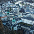 Salzburg city view. - Stock Photo