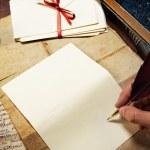 Vintage letter concept. — Stock Photo #10213760