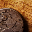 Close-up of an ancient gears — Stock Photo