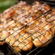 Close-up of a barbecue - Foto de Stock