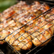 Royalty-Free Stock Photo: Close-up of a barbecue