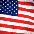 Stock Photo: American flag background