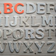 Stock Photo: English alphabet