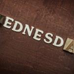 Wednesday — Stock Photo