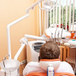 At the dentist's surgery. - Foto Stock