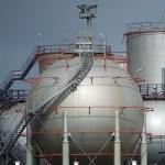 Oil silo — Stock Photo