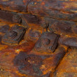 Rusty metal construction - Stock Photo
