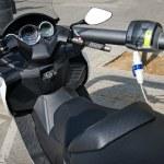 Motorbike electro charging — Stock Photo #10214594