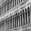Architecture details in Venice - Foto de Stock