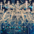 Vintage crystal chandelier. — Stockfoto
