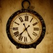 Foto Stock: Vintage wall clock.