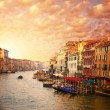 Beautiful Venice canal view - Stock Photo
