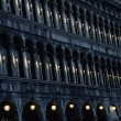 Architecture details in Venice - Stock Photo