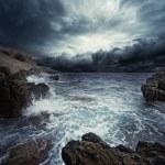 tempestade do oceano — Fotografia Stock  #10215088