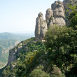 Stock Photo: Mountains of Montserrat, Spain