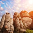 Mountains of Montserrat, Spain - Stock Photo