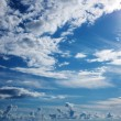Beautiful cloudy sky - Stock Photo