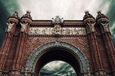 Triumph Arc in Barcelona — Stock Photo