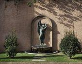 Statue in a park, Barcelona. — Stock Photo