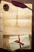 Notion de lettre vintage — Photo