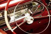 Vintage car interior. — Foto de Stock