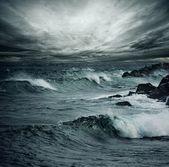 Tempête de l'océan. — Photo