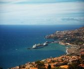 Funchal city view, Madeira — Stock Photo