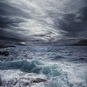 Ocean storm — Stock Photo