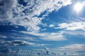 Beautiful cloudy sky — Stock Photo