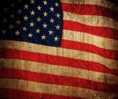 USA flag background. — Stock Photo