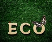 Die wort-eco — Stockfoto