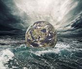 World in danger — Stock Photo