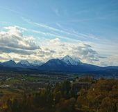 Alps view — Stock Photo