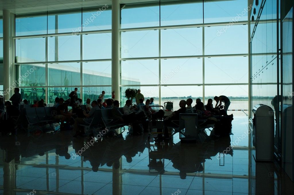 In an airport — Stock Photo #10213401