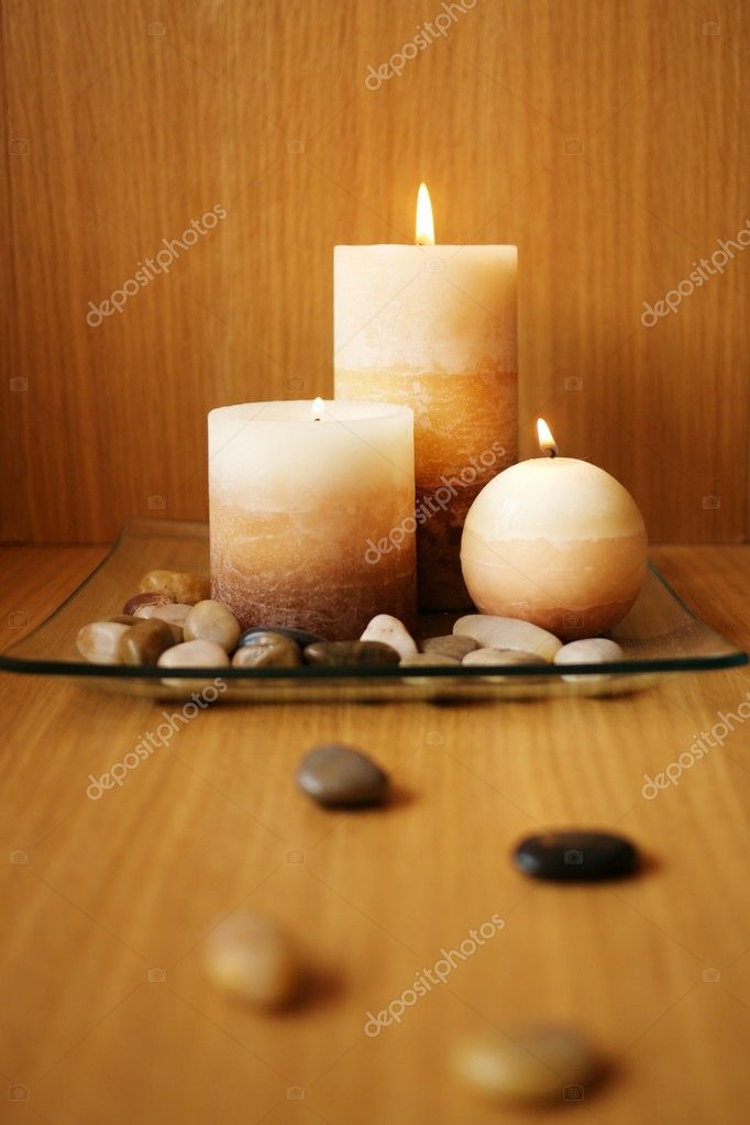 Beautiful candle design — Foto Stock #10215121