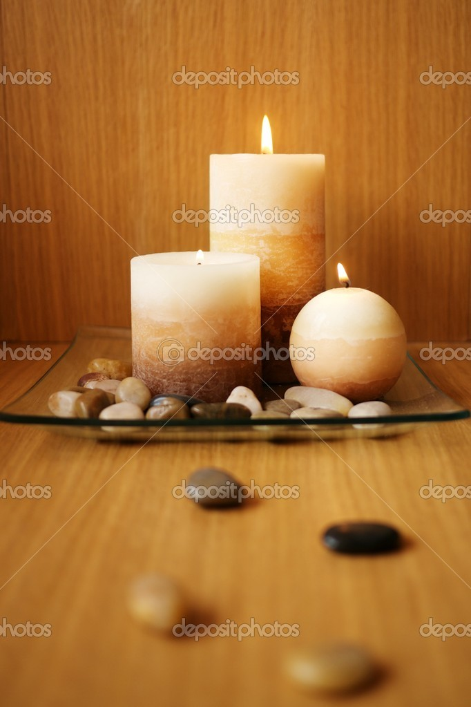 Beautiful candle design — Stok fotoğraf #10215121