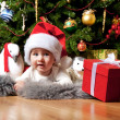 Little santa - Foto Stock